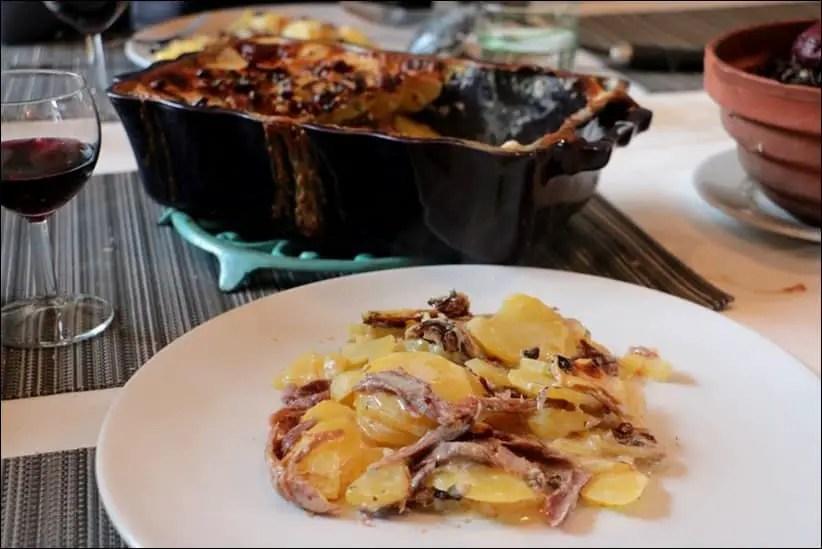 recette gratin pomme de terre confit de canard