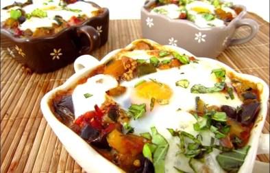 gratin de légumes au chorizo