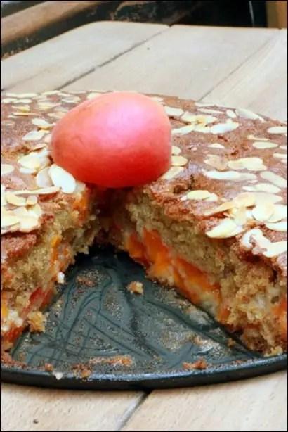 gateau abricot sans beurre