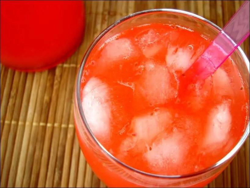 limonade fraise citron