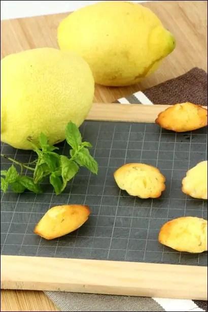 madeleine citron facile
