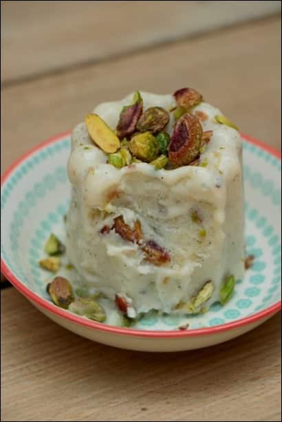 glace indienne cardamome