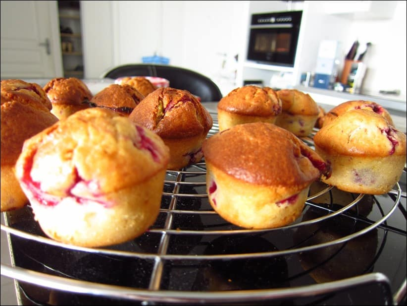 muffins framboise citron
