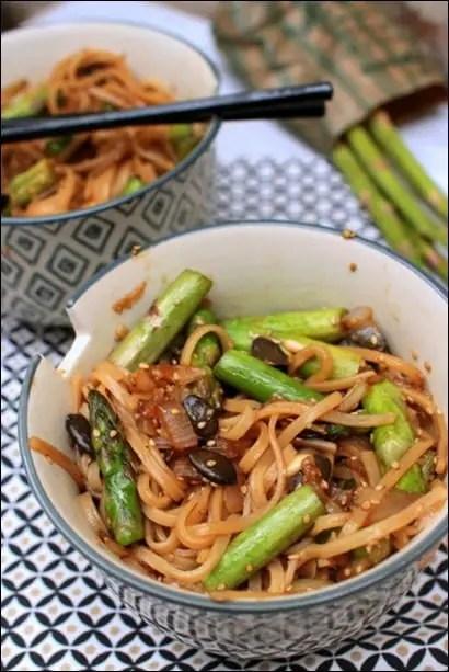 nouilles sautées wok