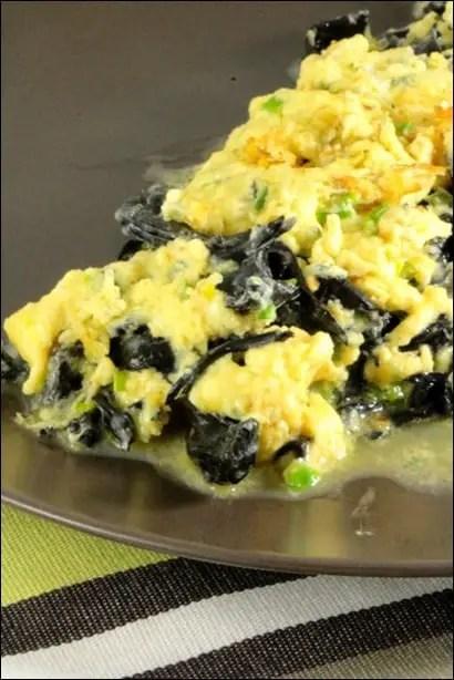 omelette champignons