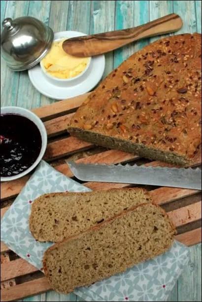 pain sans gluten recette