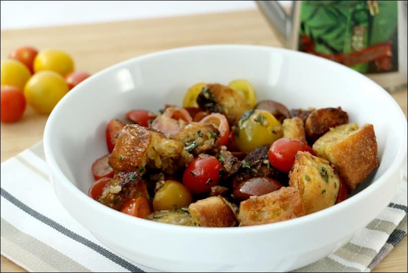 salade tomate pain rassis