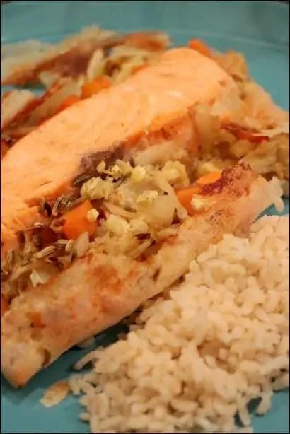 papillote saumon dietetique