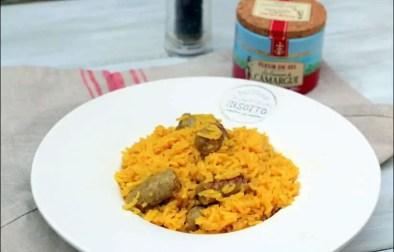 pilaf de riz aux chipolatas