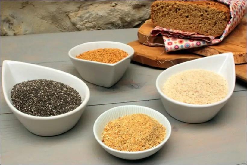 recette poudre magique pour pain sans gluten