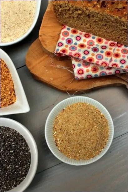 poudre magique pain sans gluten