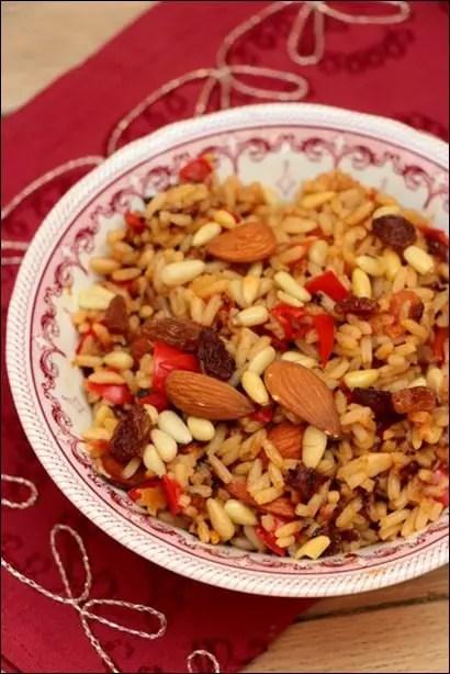 riz poivrons épices