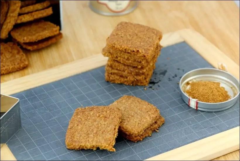 biscuits sablés healthy
