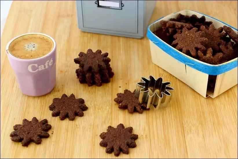sablés healthy au chocolat