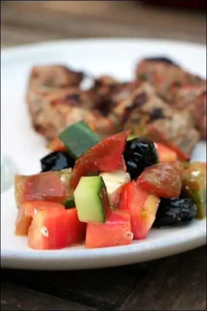 salade grecque cuisine actuelle