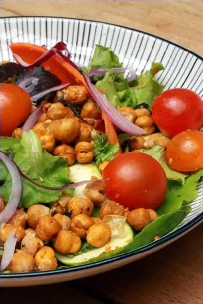 salade pois chiches cumin