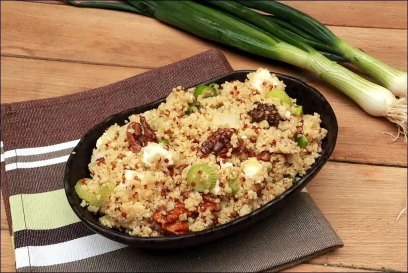 salade au boulghour quinoa feta et noix