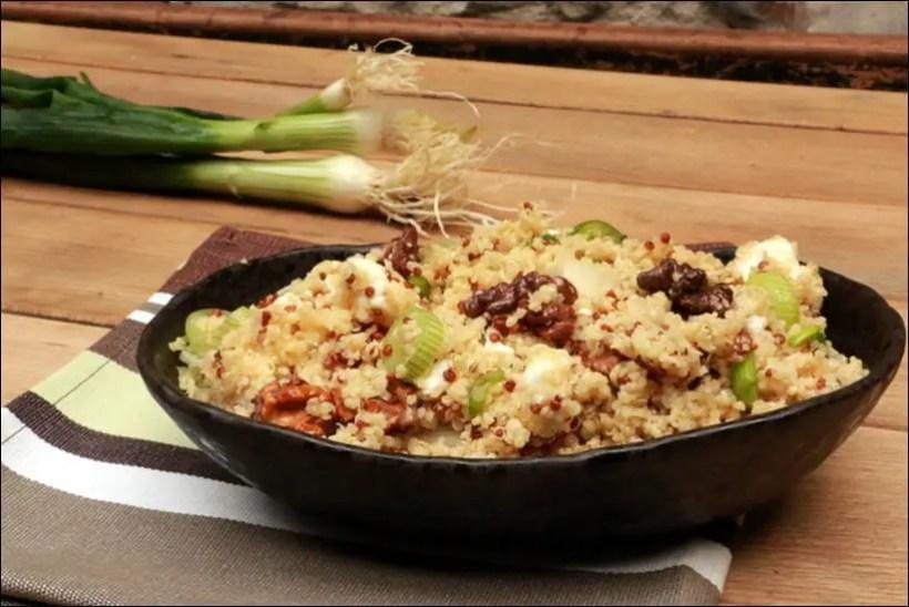 salade boulgour quinoa feta