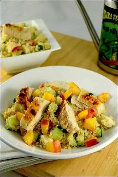 recette salade de semoule au poulet