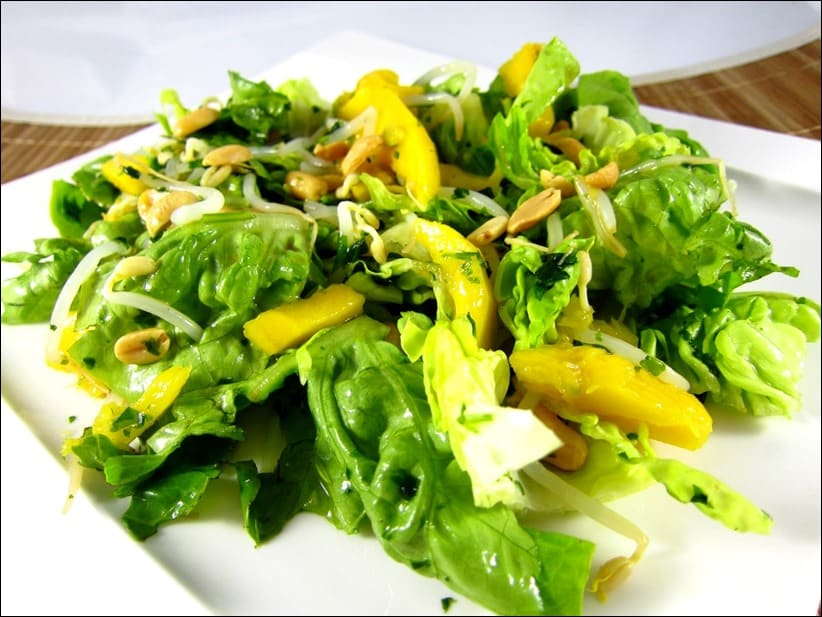 salade mangue cacahuete