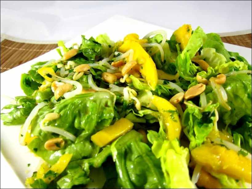 salade mangue thai