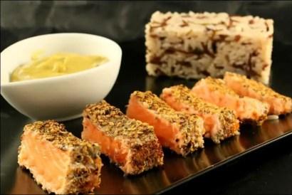 croute d'épices saumon