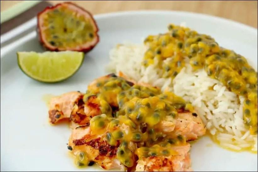 saumon sauce passion