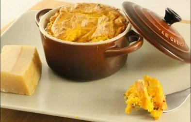 soufflés au potiron et parmesan