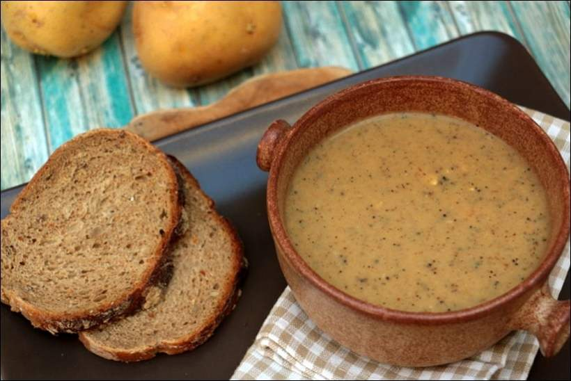 soupe champignons pommes de terre