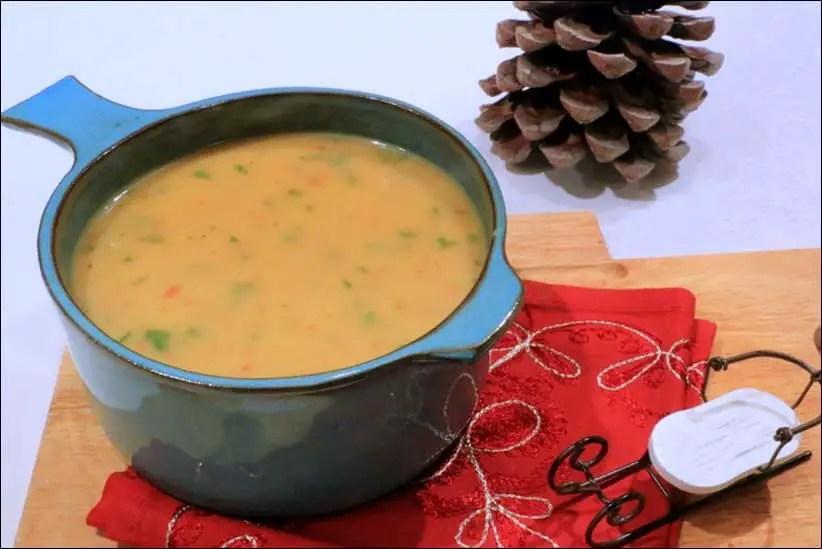 soupe au chorizo fenouil et pommes de terre