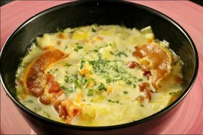 soupe poireaux avec morceaux