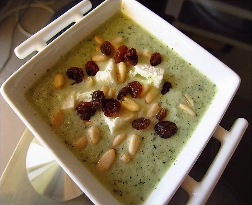 soupe froide concombre feta