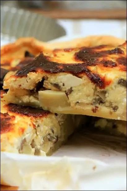 recette tarte au artichaut
