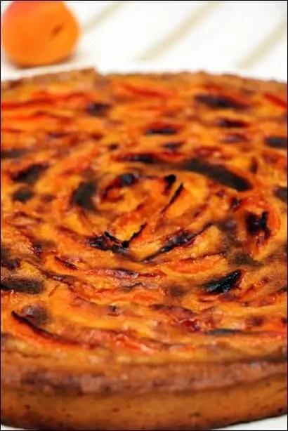 tarte aux abricots à la crème d'amande