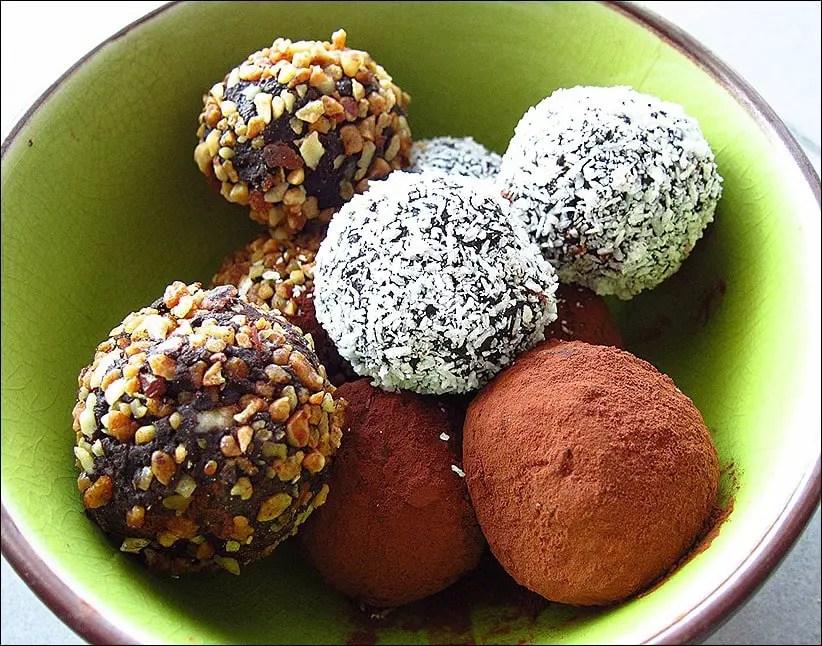truffes chocolat recettes