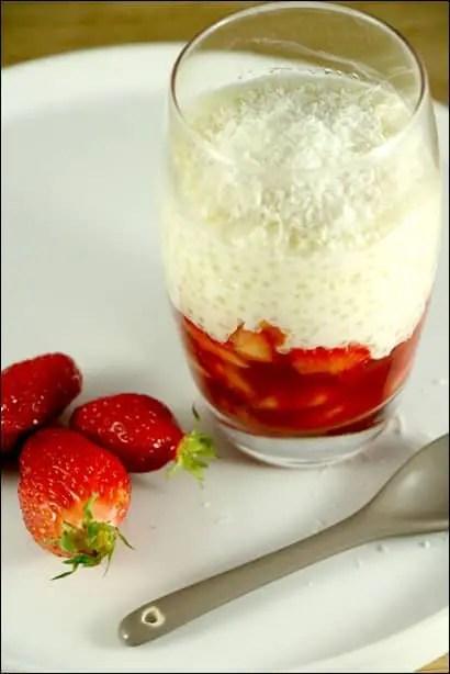 tapioca coco fraise