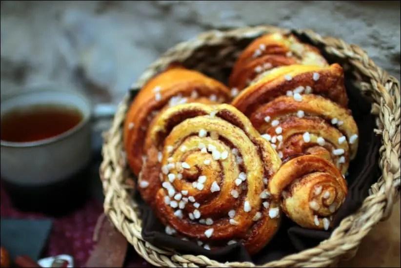 cinnamon roll brioche