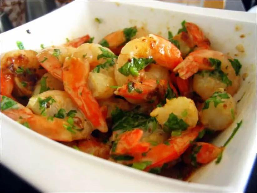 crevettes sautées thaï