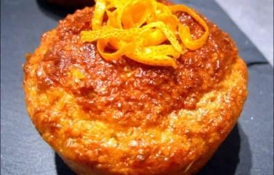 Muffins au son d'avoine à l'orange et au gingembre