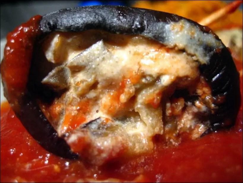 aubergine ricotta tomate au four