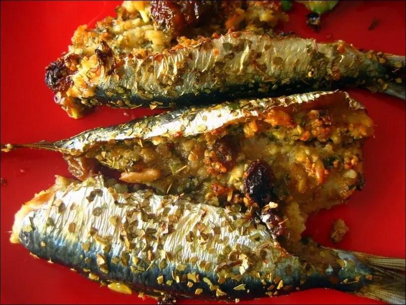 recette sardines farcies sicilienne