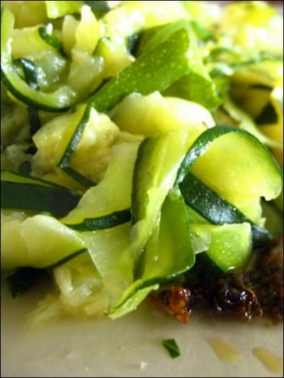 poelee courgettes ail