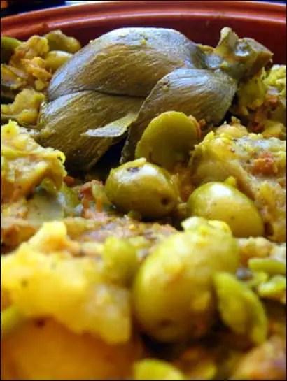 tajine agneau olives