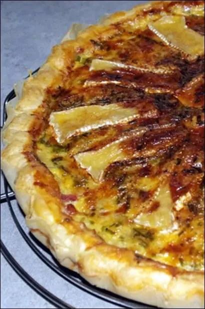 tarte cancoillotte lardon