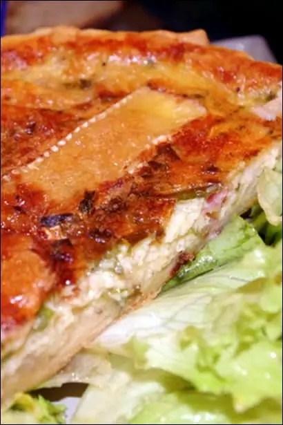 tarte camembert oignon