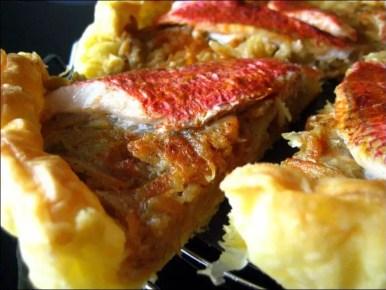 tarte aux filets de rouget