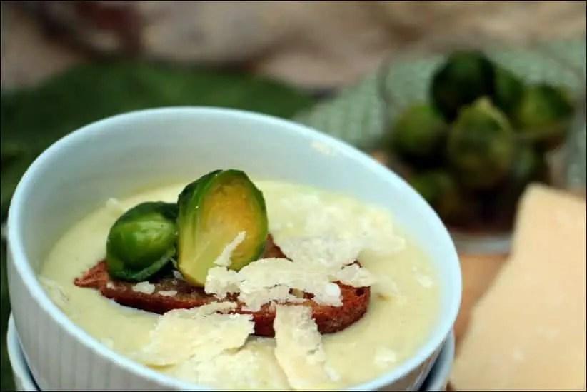 soupe choux bruxelles pommes terre