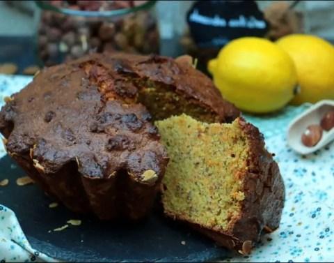 carrot cake aux noisettes et amandes