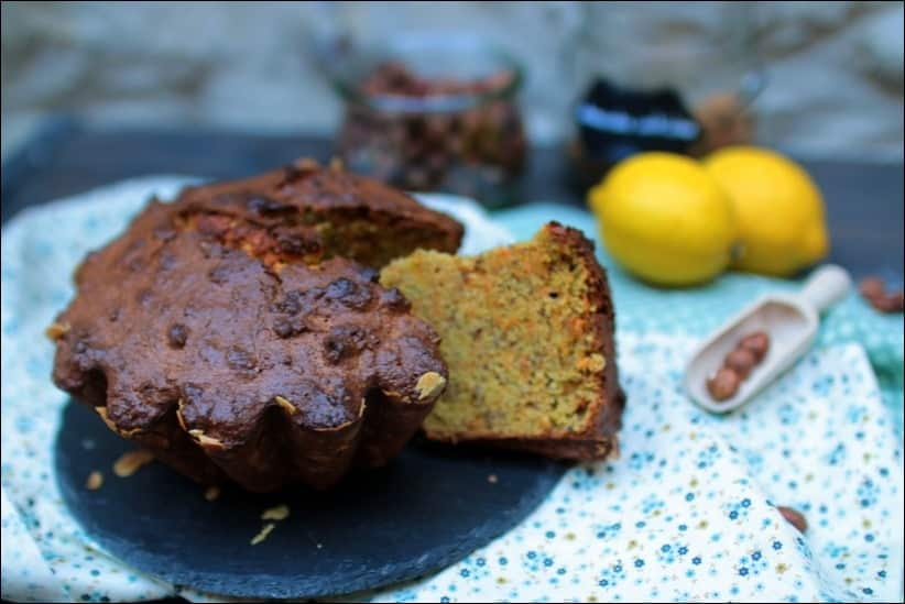 carrot cake amandes noisettes