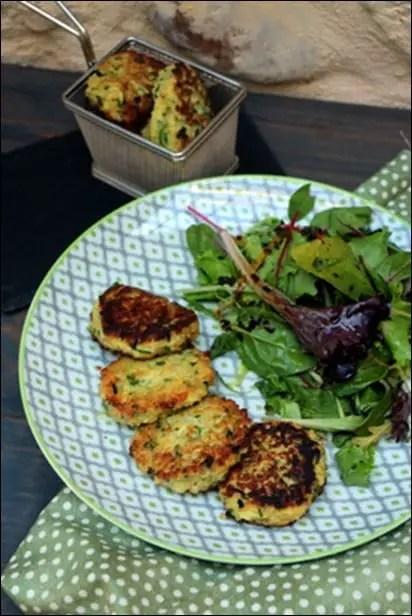 croquette quinoa courgette chevre